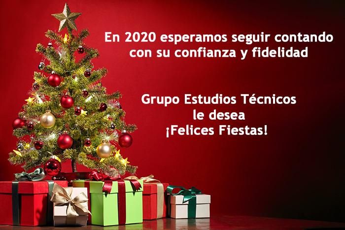 GET - Grupo Estudios Técnicos le desea ¡Felices Fiestas!